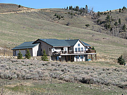 Red Lodge,Montana, home, Pryor Mountains, house,  garage, Hot tub, Meeteetse Trail, Home For Sale
