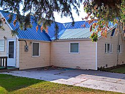 house, corner lot, open floor plan, storage, remodeled, yard, trees, garden, Ashton, Idaho,