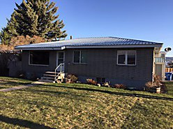 brick home, Ashton, Idaho, three bedrooms, fenced yard, unfinished basement, patio,  for sale