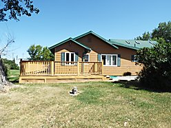 home, for sale, choteau, montana, guest quarters, garage, mountain views, storage, deck, private,  for sale
