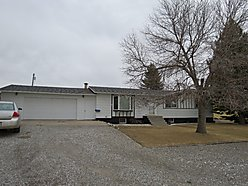 home, choteau montana, basement, garage, heating, backyard, shed, deck, lot, montana,