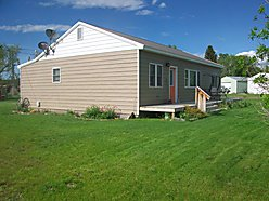 home, house, for sale, Choteau, Montana, large corner lot, landscaped yard for sale