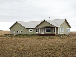 home, house, for sale, energy efficient, acres, fenced, Fairfield, Montana, views, heated garage for sale