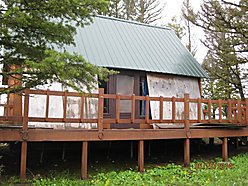 Helmville, montana, cabin, wilderness, new roof, acres