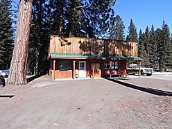 commercial location, Lincoln, Montana, real estate, office, rustic, ponderosa pines, property, for sale
