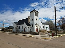 Congregational Church For Glasgow Montana Fort Peck Lake Missouri River