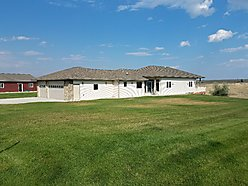 home, for sale, fort peck, montana, garage, bear creek bay, fort peck lake, trout pond, views, dam,  for sale