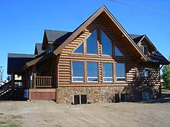 whisper creek, log home, bedrooms, baths, custom, open floor plan, wood flooring, energy efficient, for sale