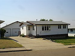 home, house, basement, hardwood, updates, spacious, heated garage, Glasgow, Montana, for sale