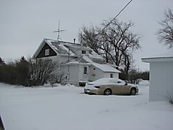 home, Opheim, Montana, family home, area, garages, large city lot, trees, house, for sale