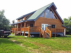 custom, log home, for sale, Opheim, Montana, property, machine shop, garage, chicken coup, for sale