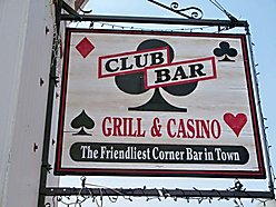Club Bar and Grill, Philipsburg, Montana, business, recreational, Real Estate, gaming room, for sale