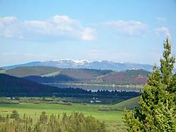 georgetown lake, montana, views, pintlar mountains, lot, private, fishing, skiing, anaconda, for sale