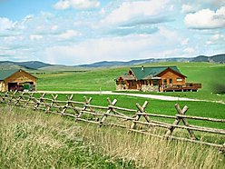 Phillipsburg , Montana, jetted tub, log home, views, hand crafted, large deck, soapstone fireplace, garage, shop, acres,