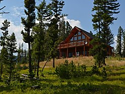 Pihllipsburg, Montana, Rocky Mountain, Flint Creek Valley, views, log home, hickory floors, heated floors