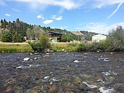 Phillipsburg, Rock Creek, Montana, fishing, garage, shop, furnished, 2 story,