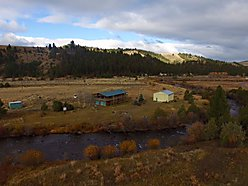 Phillipsburg, Rock Creek, Montana, fishing, garage, shop, furnished, 2 story,  for sale