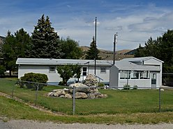 fenced yard, home, anaconda, montana, corner lot, great views, garage, upgrades, sale, property, for sale
