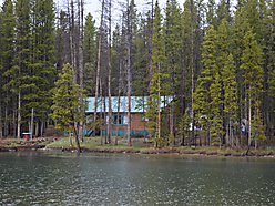 Georgetown Lake, cabin for sale, dock, Pintlar Mountains, recreation, property, covered porch,  for sale