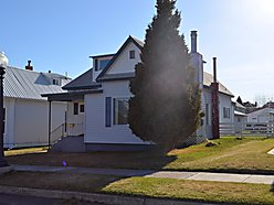 home, storage, lot, for sale, Anaconda, Montana, basement, sprinklers, yard, trees, patio, garage,  for sale