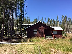 cabin, for sale, well, forest service, georgetown lake, montana, dentons point, lakeside, echo lake, for sale