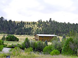 home, for sale, philipsburg, montana, georgetown lake, creek frontage, rock creek, acre, fish, hunt, for sale