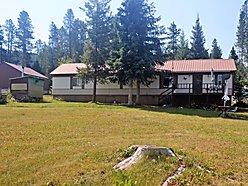 mobile home, for sale, georgetown lake, montana, garage, discovery ski area, rock creek, fish peak,  for sale