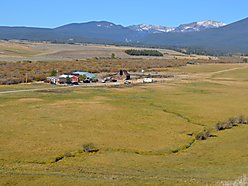 land, ranch, acres, for sale, mobile home, hunt, fish, big hole river, fish trap creek, montana,  for sale