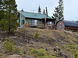 cabin, for sale, georgetown lake, montana, disocvery ski basin, spring, views, pintlar mountains,   for sale