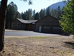 home, for sale, alberton, montana, single level, workshop, garage, deck, missoula, riverside acres,  for sale
