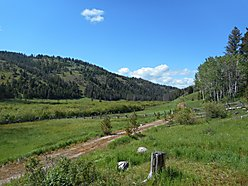 land, for sale, acres, creek frontage, philipsburg, montana, forest service, solar panels, cabin,  for sale