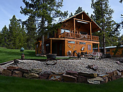 home, for sale, income producing, vrbo, georgetown lake, montana, log home, discover basin ski,  for sale