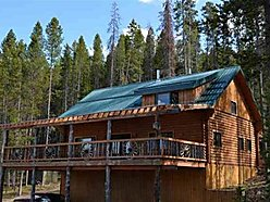 home, for sale, georgetown lake, montana, anaconda, log home, discovery ski hill, boat dock, views,  for sale