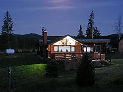 log cabin, for sale, Georgetown lake, montana, forest service land, fish, hunt, wildlife, furnished, for sale