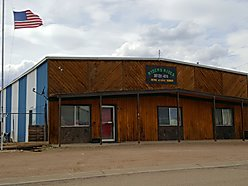 commercial, office building, shop, for sale, big piney, wyoming, fenced, yard, town lots, for sale