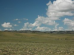 land, for sale, acres, pine mountain ranch, casper, wyoming, wildlife, views, platte river, well,  for sale
