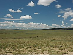 land, for sale, wyoming, pine mountain ranch, views, wildlife, level, building site, power,  for sale