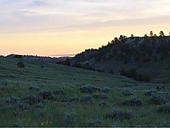 land, for sale, casper, wyoming, pine mountain ranch, wildlife, well, power, burlington lake, views, for sale