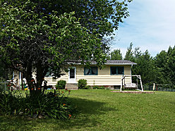 house, for sale, Baudette, Minnesota, acres, Timber Mill Park, porch, garage, yard,  for sale
