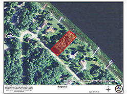 waterfront, lot, for sale, shoreline, Rainy River, wooded lot, Baudette, Minnesota, for sale