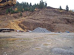 rock quarry business, acres, rock, contractors, property, power, septic, well, railroad, st. maries idaho, business,  for sale