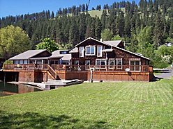 home, st maries, idaho, st joe river, river, views, private, garage, shop, boat, year round,  for sale