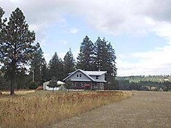 airstrip, 90 acres, marketable timber, log home, home, house, hunt, fish, recreation, St. Joe River Valley, St. Maries, Idaho, for sale