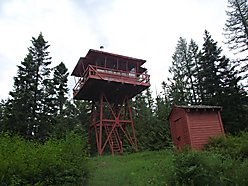 fire lookout, acres, hunting camp, recreation, hiking, hunting, wildlife, log, storage, property,  for sale