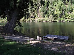 St. Joe River, Lot For Sale, frontage, RV, swimming, dock, play house, Power, for sale