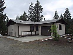 home, house, for sale, St. Maries Realty, Idaho, acre, garage, open deck, fruit trees, garden for sale