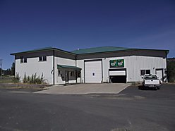business opportunity, office space, auto bays, parking, St. Maries, Idaho, commercial building for sale