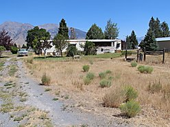 creek front, lot, for sale, outbuildings, garage, barn, trailer, acres, mackay, idaho, fish, views,  for sale