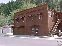 commercial, property, for sale, Superior, Montana, living accommodations, basement, residential,  for sale