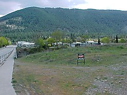 commercial, property, lot, for sale, Superior, Montana, river frontage, Clark Fork River, downtown,  for sale